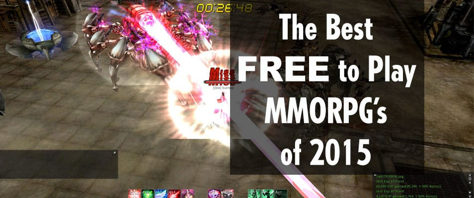 The Best Free MMORPG's of 2015