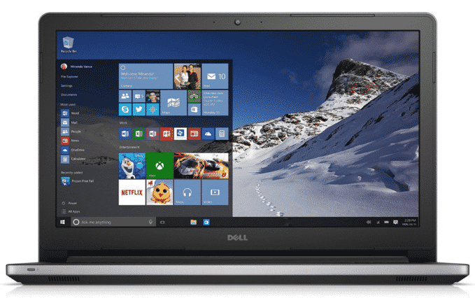 Dell Inspiron 15 i5558-5718SLV Signature Edition 15.6-inch