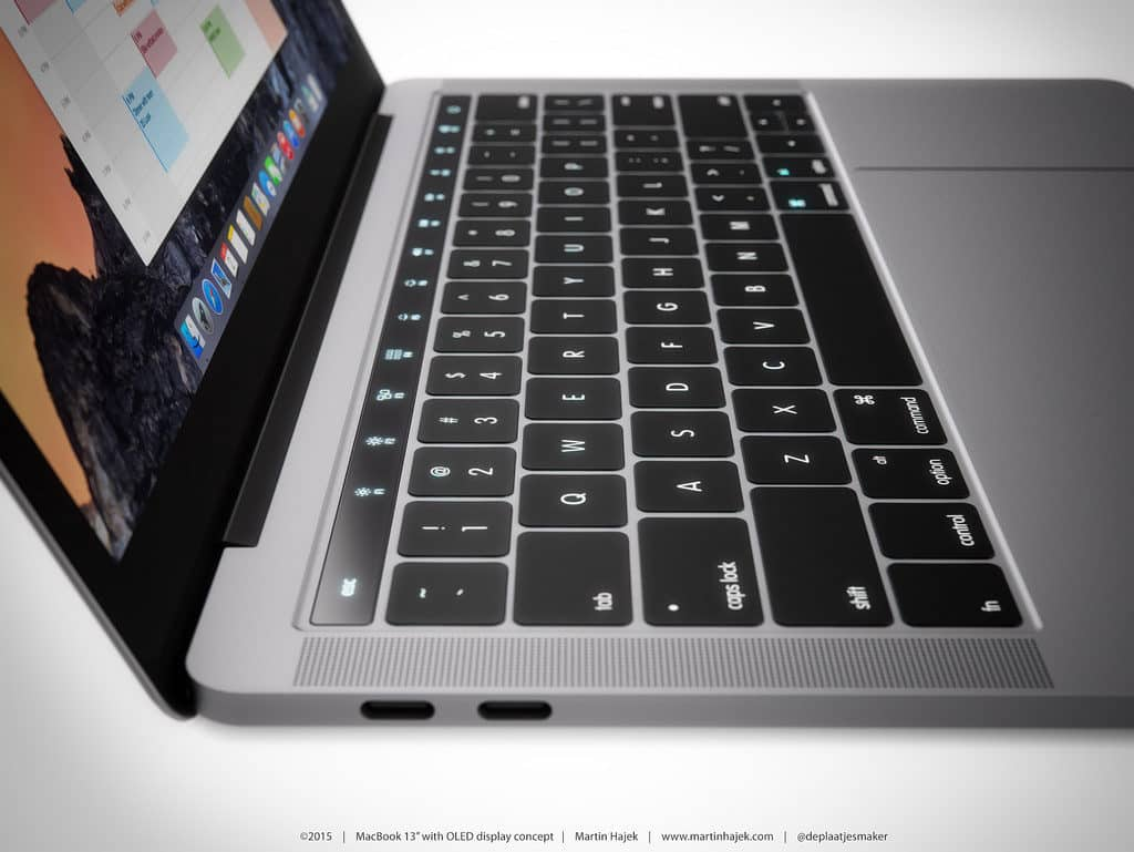 MacBook Pro concept art