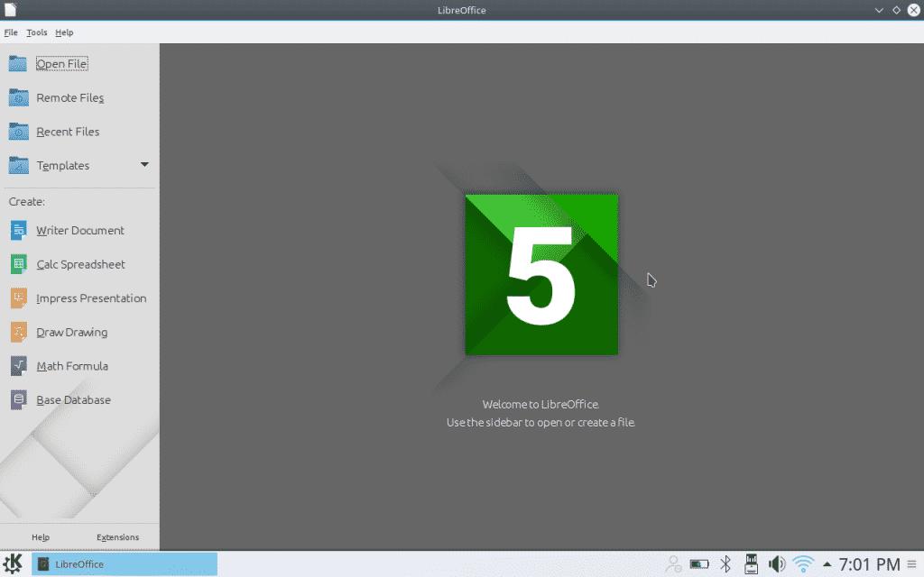 09 LibreOffice productivity suite