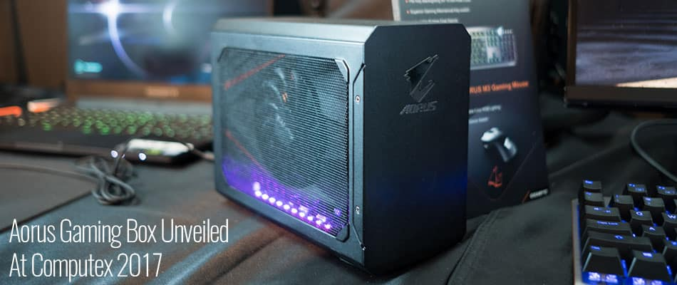 Aorus Gaming Box Unveiled At Computex 2017
