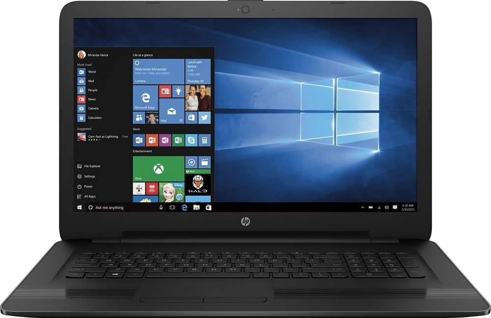HP 17-X116DX 17.3-inch