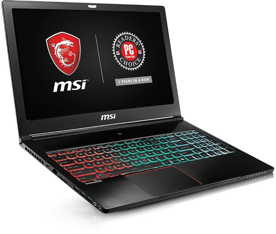 MSI GS63VR Stealth Pro-002 15.6-inch laptop