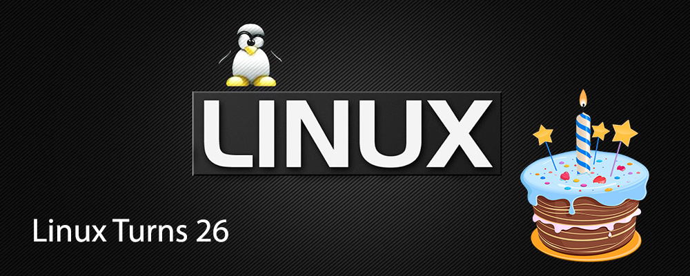 Linux Turns 26