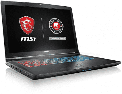 MSI GP72X Leopard-667 17.3 laptop