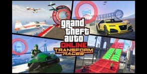 GTA 5 Online Adding New Transform Races Mode