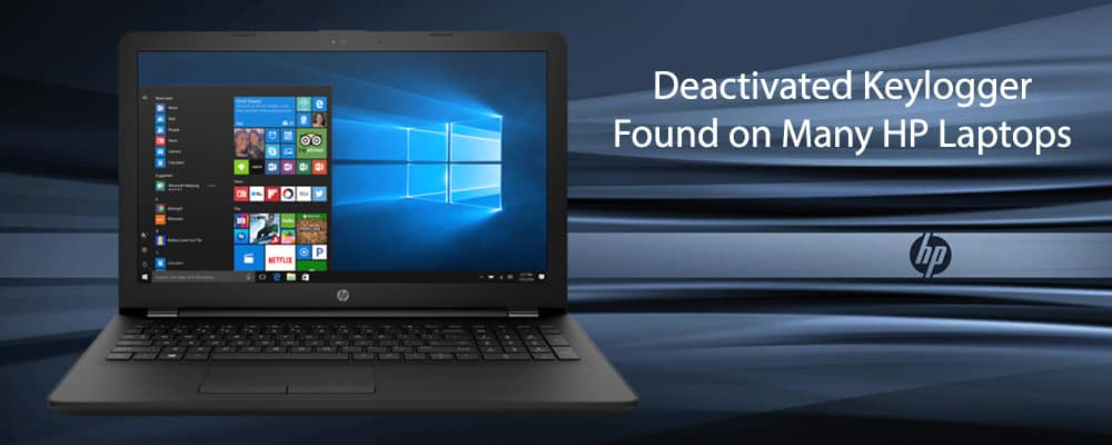 Deactivated Keylogger Found on Many HP Laptops