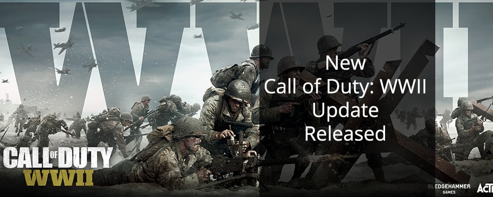 New Call of Duty: WWII Update Released