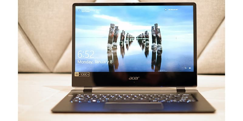 The Acer Swift 7 Retakes Titles of World's Thinnest Laptop