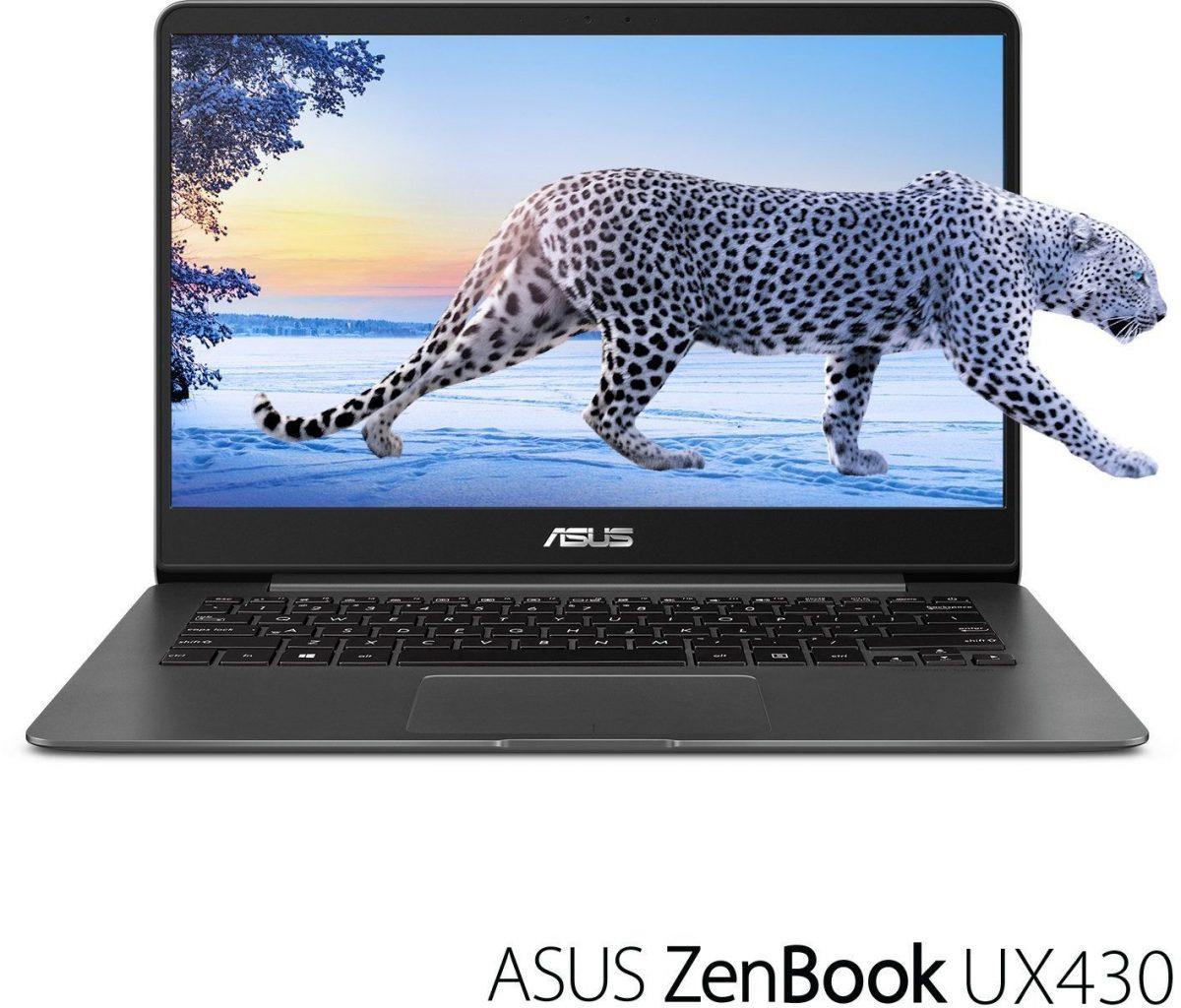 ASUS ZenBook UX430UA-DH74 14-inch laptop