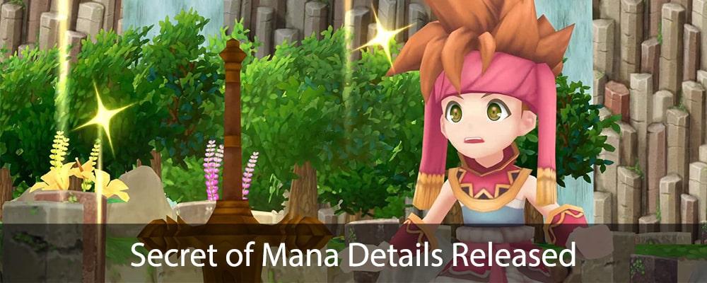 Secret of Mana Details Released