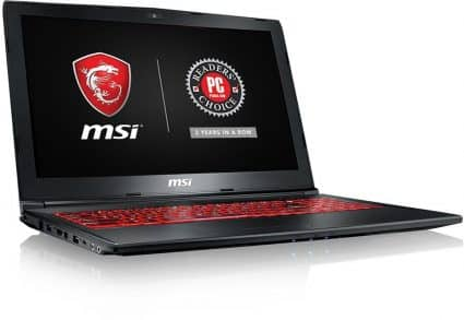 MSI GL62M 7RDX-1408 15.6-inch laptop