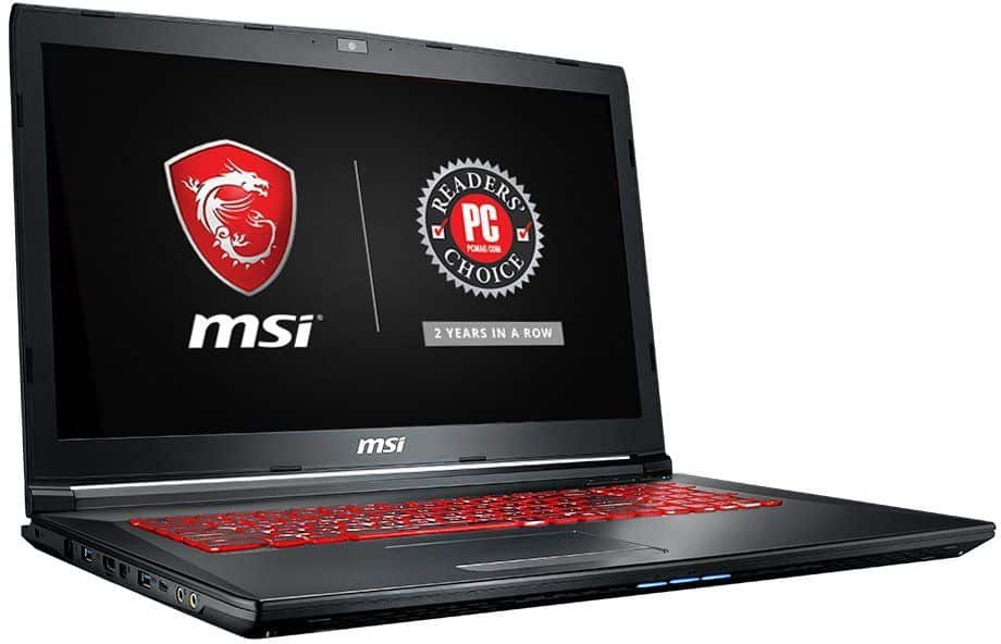MSI GL72M 7RDX-800 17.3-inch laptop