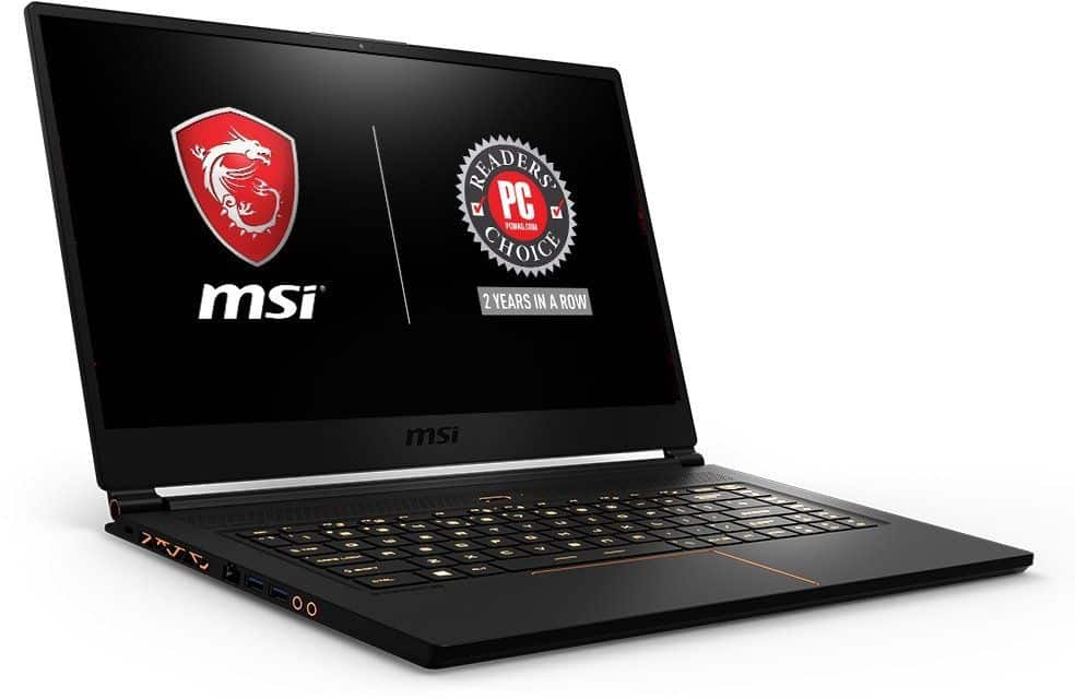 MSI GS65 Stealth THIN-051 15.6-inch laptop