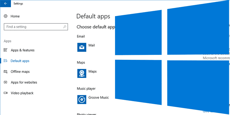 How to Change Your Default Apps in Windows 10